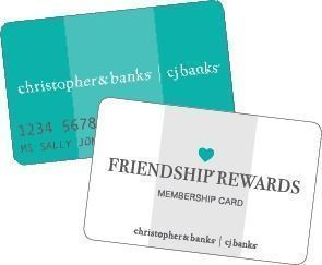 Christopher & Banks - Free Shipping for Friendship Rewards Members