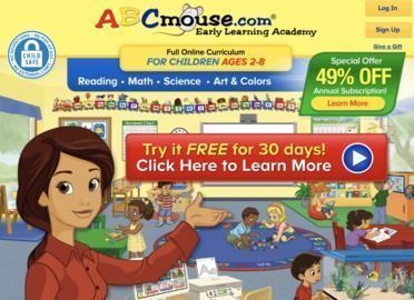 ABCmouse.com - Free 30 Day Trial