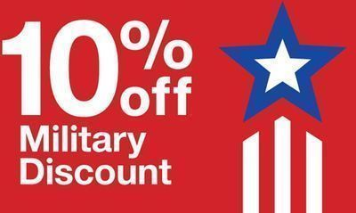 Target - 10% Off Coupon for Military, Veterans & Their Families
