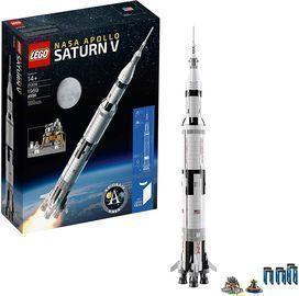 LEGO Ideas NASA Apollo Saturn V Outer Space Model Rocket