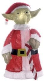 Star Wars 28 Lighted Yoda Christmas Lawn Decoration
