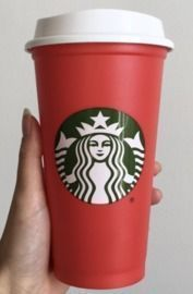 Starbucks - Free Reusable Red Cup w/ Purchase on 11/7