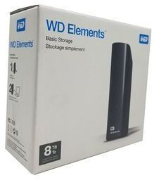 WD 8TB Elements Desktop Hard Drive - USB 3.0