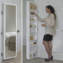 Cabidor Deluxe Mirrored Behind The Door Cabinet