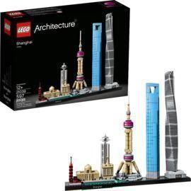 Lego Architecture Shanghai Building Set