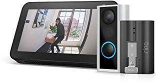 Ring Video Doorbell Cam + Echo Show 5