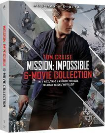 Mission: Impossible - 6 Movie Collection Blu-Ray Set