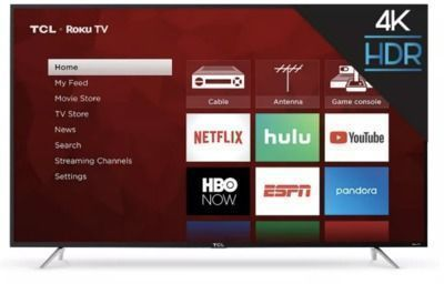 TCL 65 4 Series 4K UHD HDR Smart TV (65S425) | Ends Tonight