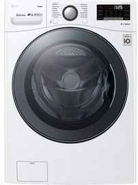 LG SmartThinQ 4.5-cu ft HE Stackable Front-Load Washer