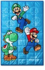 Mario 5-Lb. Weighted Blanket