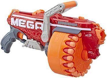 NERF Megalodon N-Strike Mega Toy Blaster w/ 20 Mega Darts
