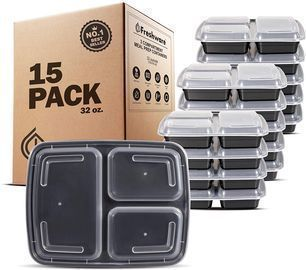 Freshware Meal Prep Container 15-Pack
