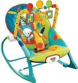 Fisher-Price Infant-to-Toddler Rocker (Circus Celebration)