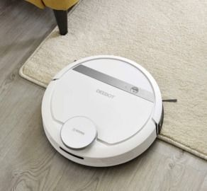 ECOVACS Smart Robotic Vacuum Cleaner w/ Advanced Navigation