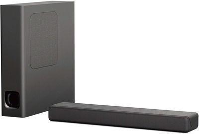 Sony HT-MT300/B Mini Sound Bar w/ Wireless Subwoofer, Black