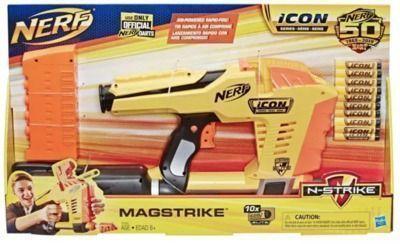 NERF ICON Series Magstrike AS 10 Blaster + 30-Dart Refill