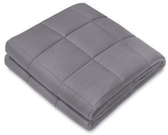 NEX Charcoal Weighted Blanket (40 x 60, 15 lbs)