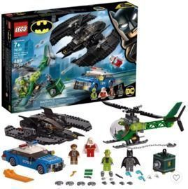 LEGO Batman Batwing and The Riddler Heist Toy Plane Set