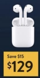 Apple Airpods w/ Charging Case (Black Friday 11/28)