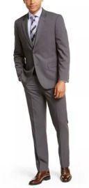 Nautica Men's Solid Modern-Fit Suit