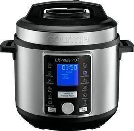 Gourmia 6-Quart Pressure Cooker w/ Auto Release