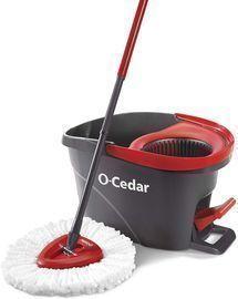 O-Cedar EasyWring Microfiber Spin Mop + Bucket