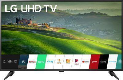 LG 50 LED Smart 4K UHD TV with HDR - UM6900PUA