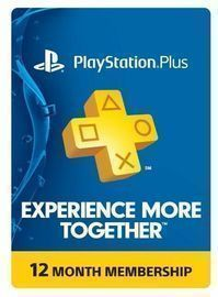 Sony PlayStation Plus 1-Yr. Membership Subscription Card