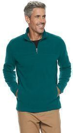 Men's Croft & Barrow Arctic Fleece Quarter-Zip Sweater