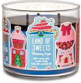 3-Wick Candles x 4