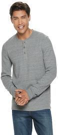 Men's SONOMA Goods for Life Supersoft Thermal Henley
