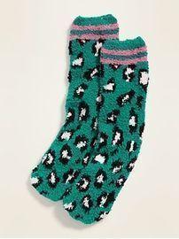 Graphic Cozy Socks