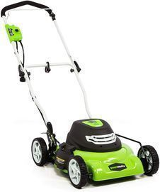 Greenworks 18 12 Amp Corded Electric Lawn Mower