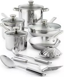 Stainless Steel 13pc Cookware Set