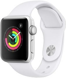 Apple Watch Series 3 (GPS, 38mm) with White Sport Band