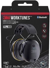 3M WorkTunes Connect Hearing Protector with Bluetooth