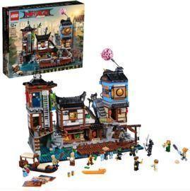 Lego Ninjago City Docks Building Set