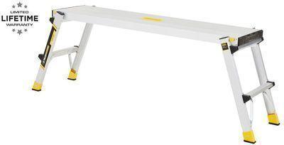 Gorilla Ladders 47 x 12 x 20 Slim Aluminum Work Platform