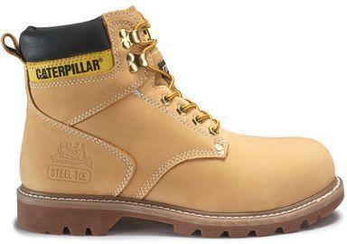 CAT Footwear Men's Second Shift 6'' Steel Toe Work Boots