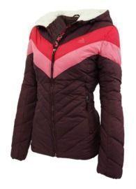 Reebok Women's Colorblock Sherpa Puffer Jacket