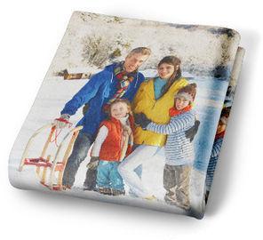 Custom Photo Fleece Blanket