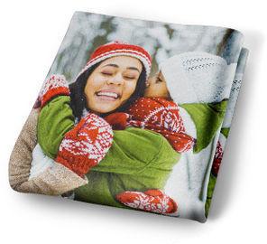 Custom Photo Mink Fleece Blanket