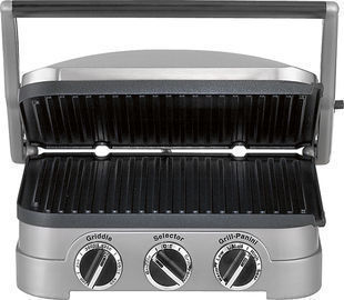 Cuisinart Stainless Steel Grill/Griddle & Panini Press