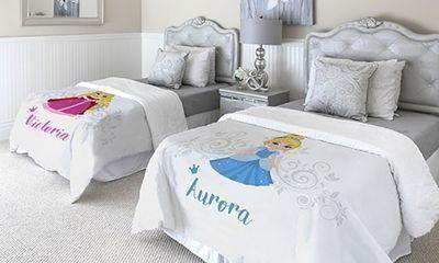 Personalized 25x20 Princess Blanket