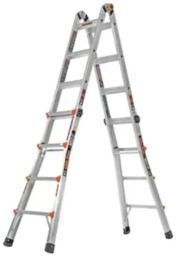 Little Giant 18' Aluminum Type 1A 300 lbs. Capacity Ladder