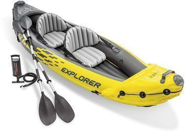 Intex Explorer 2-Person Inflatable Kayak Set