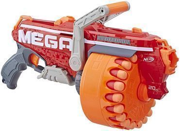 Nerf Megalodon N-Strike Mega Toy w/ 20 Darts
