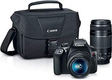 Canon Digital SLR Camera Kit [EOS Rebel T6] w/ 2 Lenses