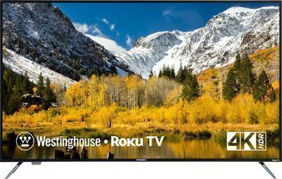 Westinghouse 58 LED 4K HDTV w/ Built-In Roku