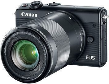 Canon EOS M100 Mirrorless Camera w/ 15-45mm & 55-200mm Lens